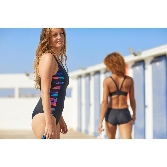 Bas de maillot de bain de natation femme shorty Vega noir