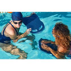 Schwimmbrett 100 Schwimmbad marineblau/schwarz