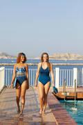 DÁMSKÉ PLAVKY Plavání - JEDNODÍLNÉ PLAVKY RIANA NABAIJI - Plavky do bazénu