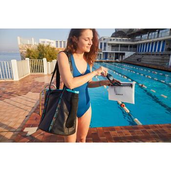 Saco de natação tipo cabaz Kbag preto azul