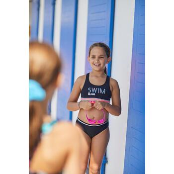 Cuecas de bikini de natação Vega Menina Preto