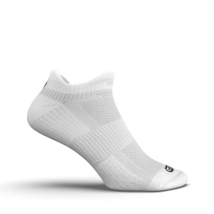 INVISIBLE COMFORT RUNNING SOCKS 2-pack - WHITE