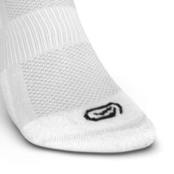 CHAUSSETTES DE RUNNING INVISIBLES CONFORT BLANCHES X2