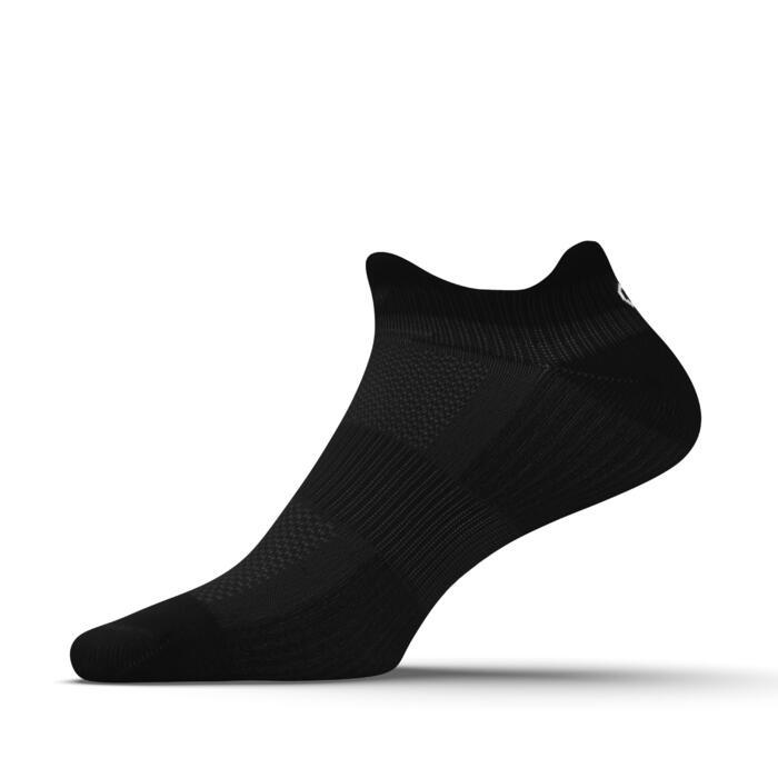 INVISIBLE COMFORT RUNNING SOCKS 2-pack - BLACK