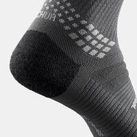 Hiking socks - MH900 High x2 pairs black
