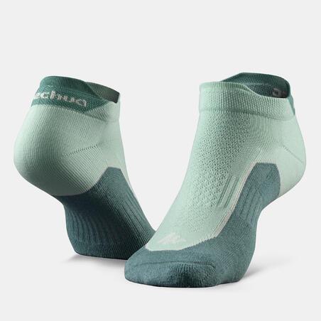 Country walking socks - NH500 Low - X 2 pairs - New Green