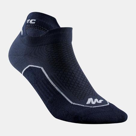 Country Walking Socks NH500 Low - x2 pairs - blue
