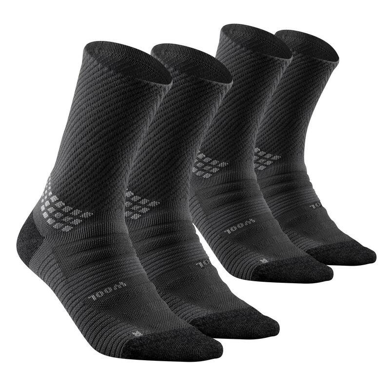 Chaussettes randonnée - MH900 High noire x2 paires