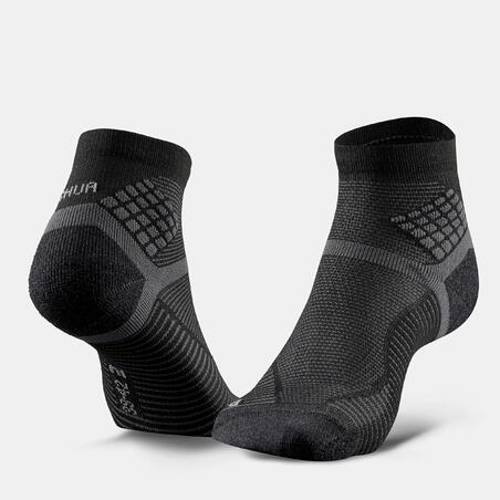 Hiking socks - MH500 Mid x2 pairs black