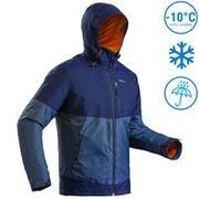 Men's Snow Jacket Warm & Waterproof SH100 X-WARM - Blue