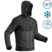 Men's Snow Jacket Warm & Waterproof SH100 X-WARM - Black