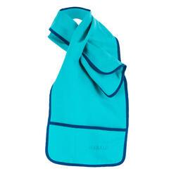 Écharpe verde para gelatina para a natação artística (sincronizada).
