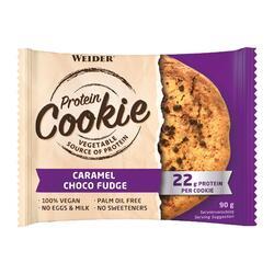 Cookie protéiné caramel chocolat 100% vegan 90g
