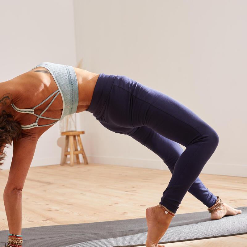 Mallas leggings comfort yoga embarazada ecofriendly azul marino