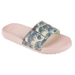 女童款涼鞋SLAP 550-粉紅色/異國款
