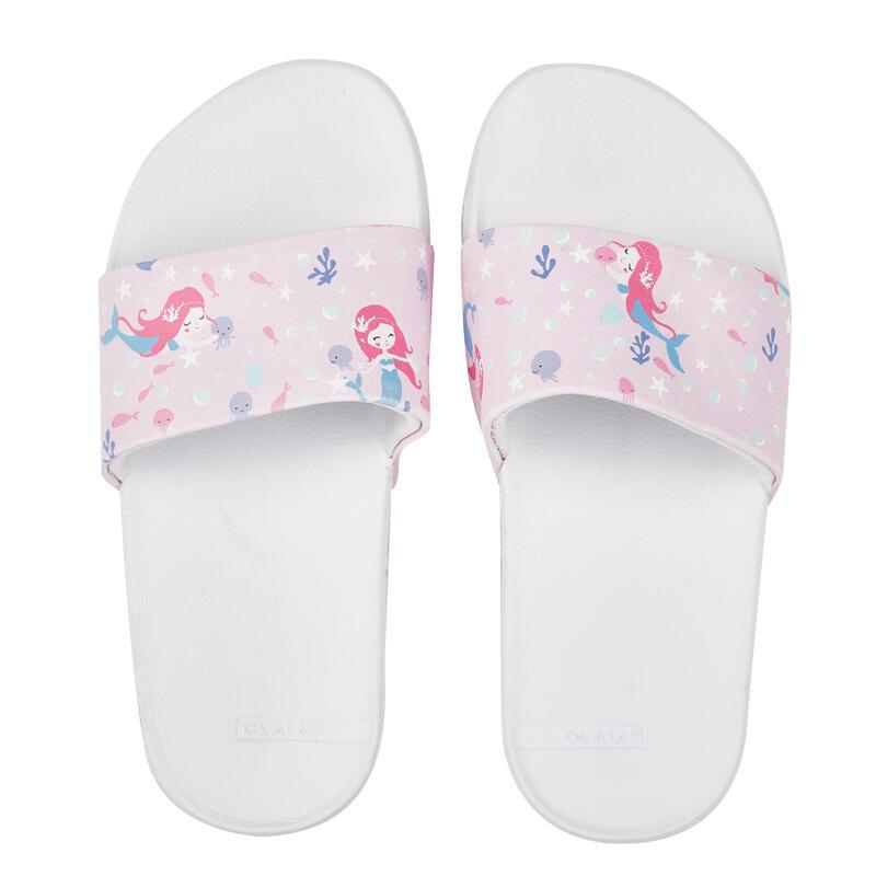 รองเท้าแตะสำหรับเด็กผู้หญิงรุ่น SLAP CN 550 (ลายนางเงือก)