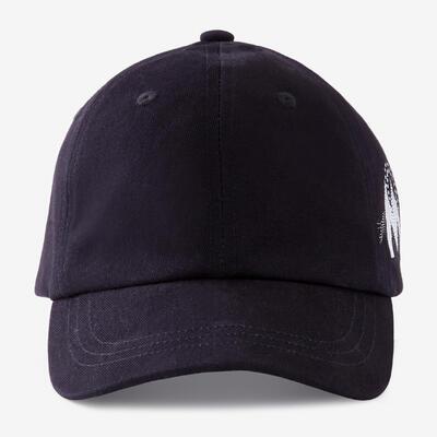 Girls' Gym Cap W100 - Black/Print