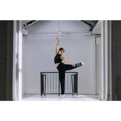 Pantalon de danse moderne fluide noir femme