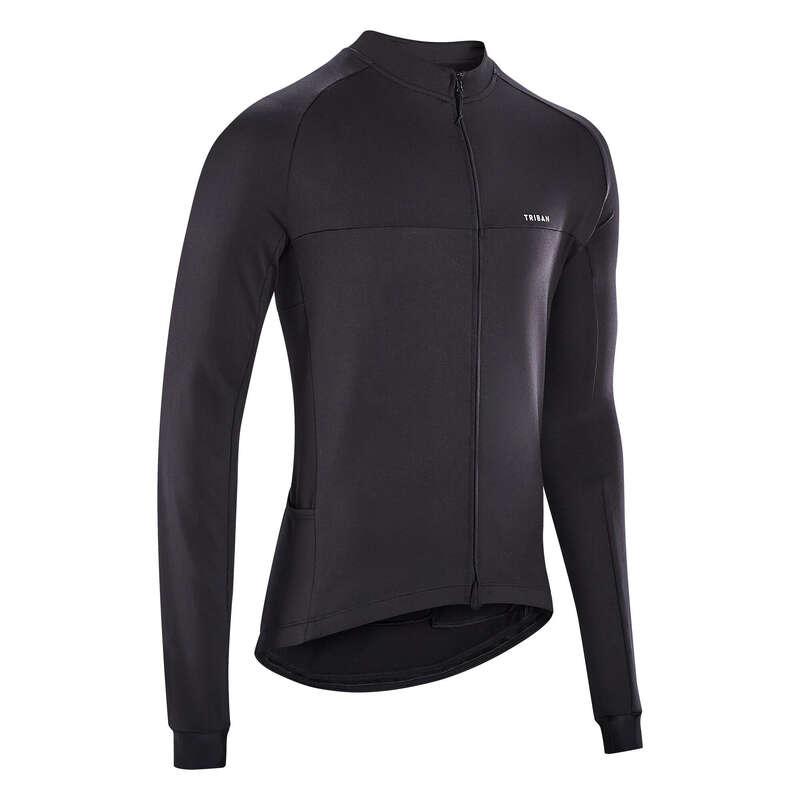 Férfi sport országúti ruházat átmeneti időre Kerékpározás - Férfi kerékpáros mez RC100 TRIBAN - Kerékpáros ruházat