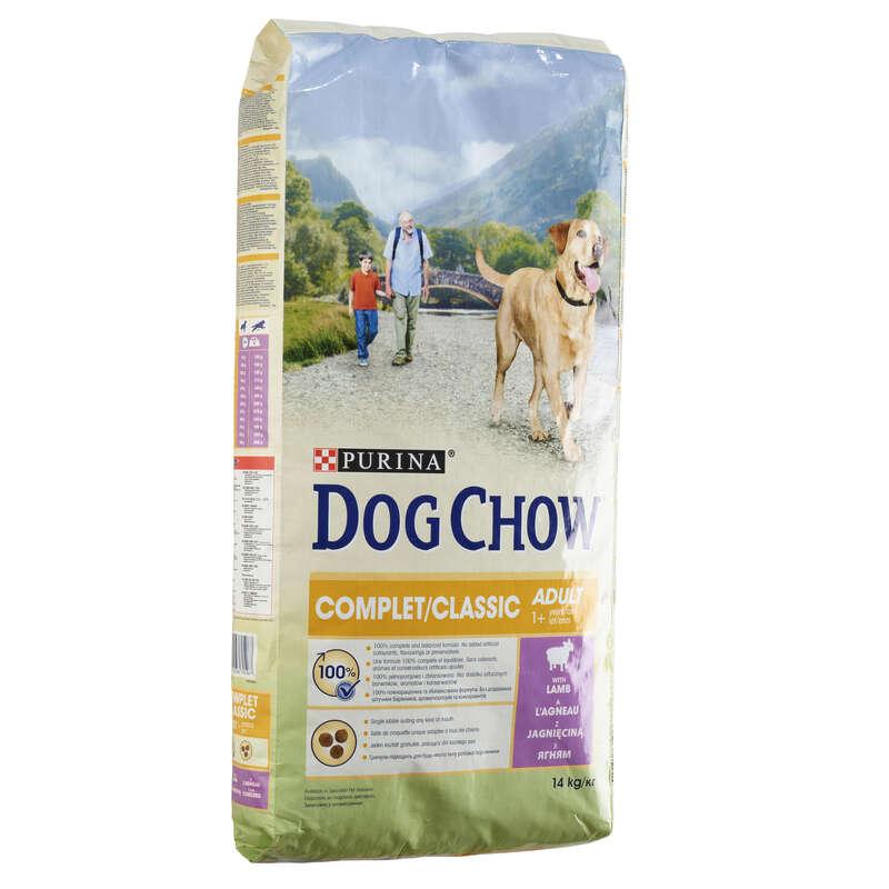 Alimentaţie câine Vanatoare - Crochete Miel câini Adulți  DOG CHOW - Caine de vanatoare