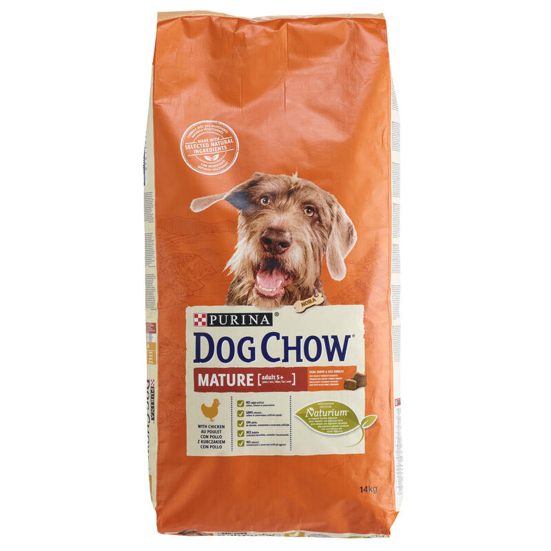 DRY FOOD ADULT DOG MATURE CHICKEN DOGCHOW 14KG