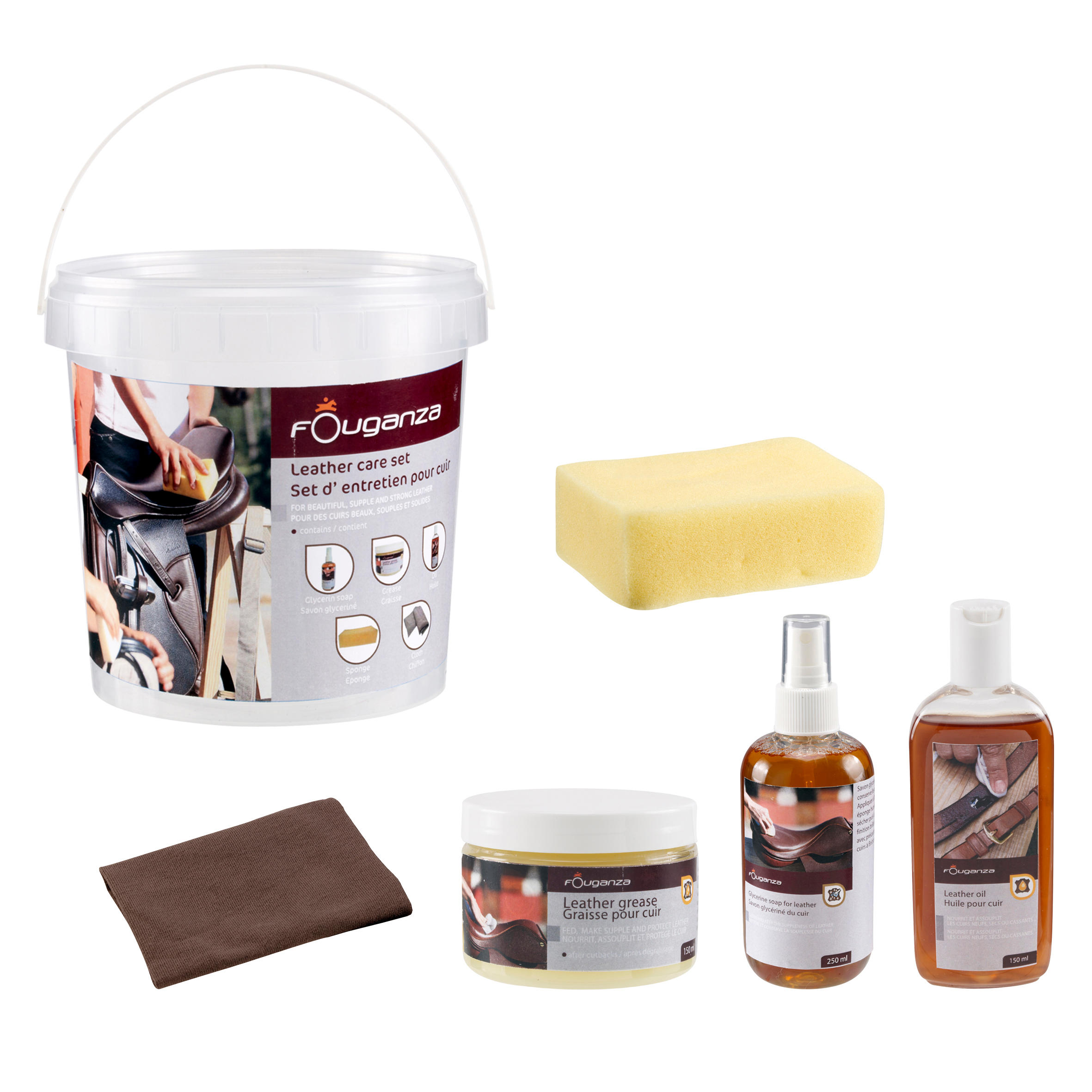 Horseback Riding Complete Leather Care Kit