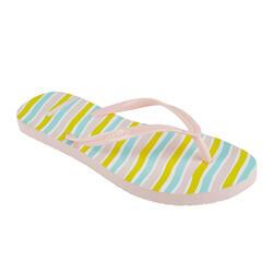 女款夾腳拖鞋120-黃色/出羽款