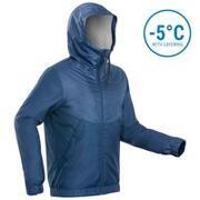 Men's Waterproof Winter Hiking Jacket - SH100 Warm -5°C