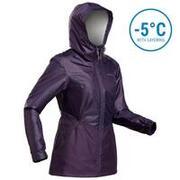 Women's Snow Jacket WARM & WATERPROOF SH100 - Purple
