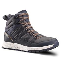 男款超保暖防水雪地健行中筒鞋SH100