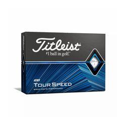Golfbälle Tour Speed 12 Stk. weiss