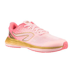 Kids' Athletics Shoes AT 500 Kiprun Fast - pink golden