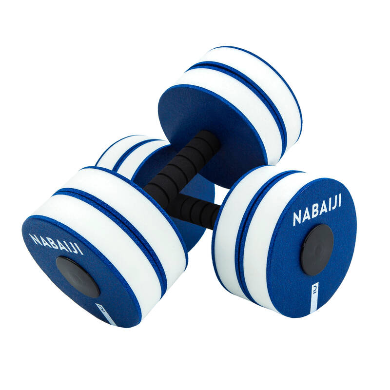 PLAVKY A VYBAVENÍ NA AQUAGYM, AQUABIKE Aqua aerobic, aqua fitness - PĚNOVÉ ČINKY MODRÉ NABAIJI - Doplňky na aquafitness
