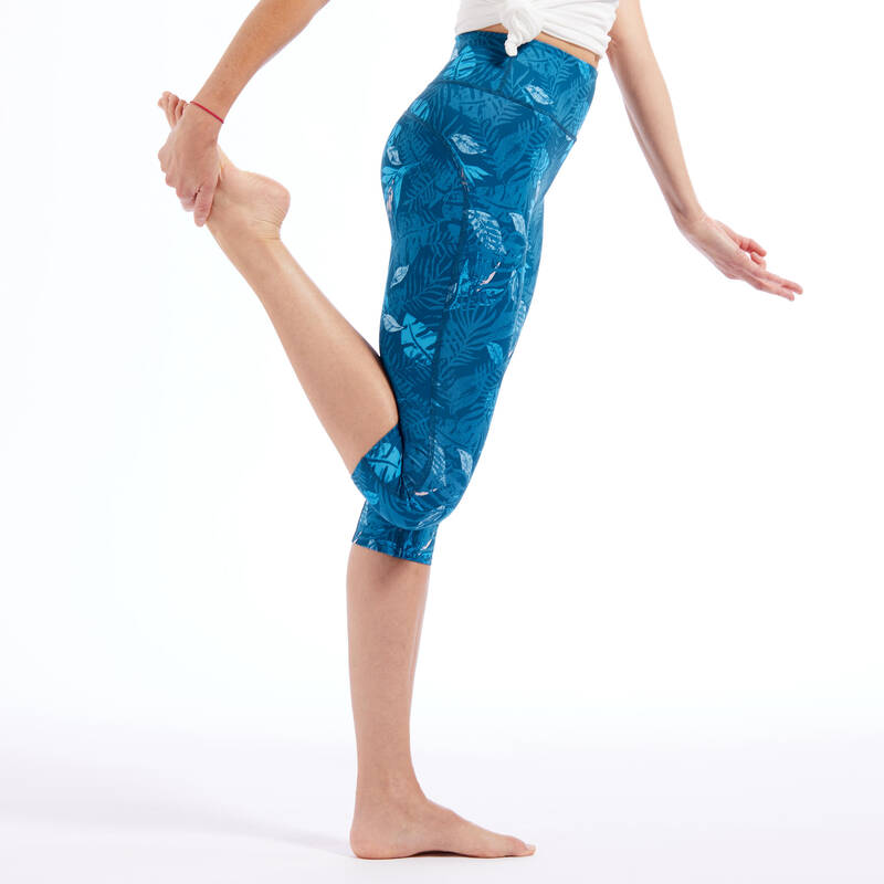 OBLEČENÍ WELLNESS Jóga - DÁMSKÉ LEGÍNY NA JÓGU KIMJALY - Oblečení na jógu