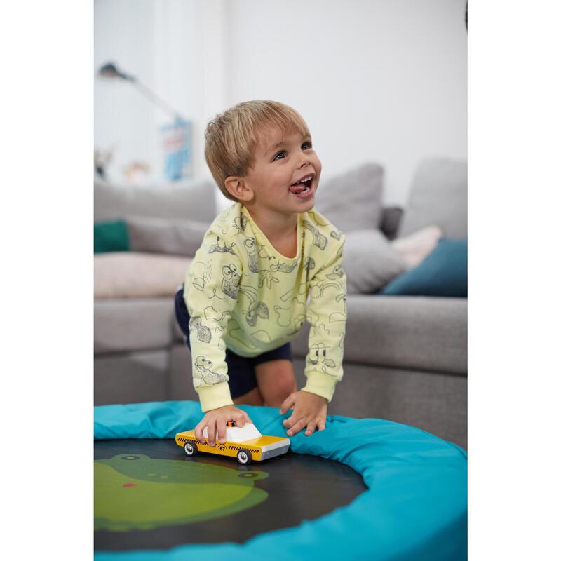 Sudadera Decat'oons estampado amarillo de Gimnasia Infantil niños