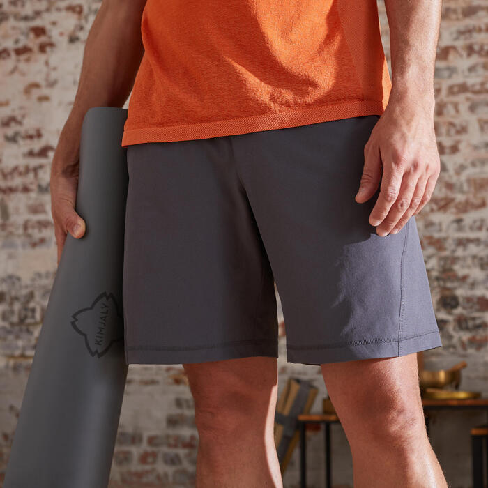 Pantalones Cortos Hombre Short Yoga Ecofriendly Kimjaly Decathlon