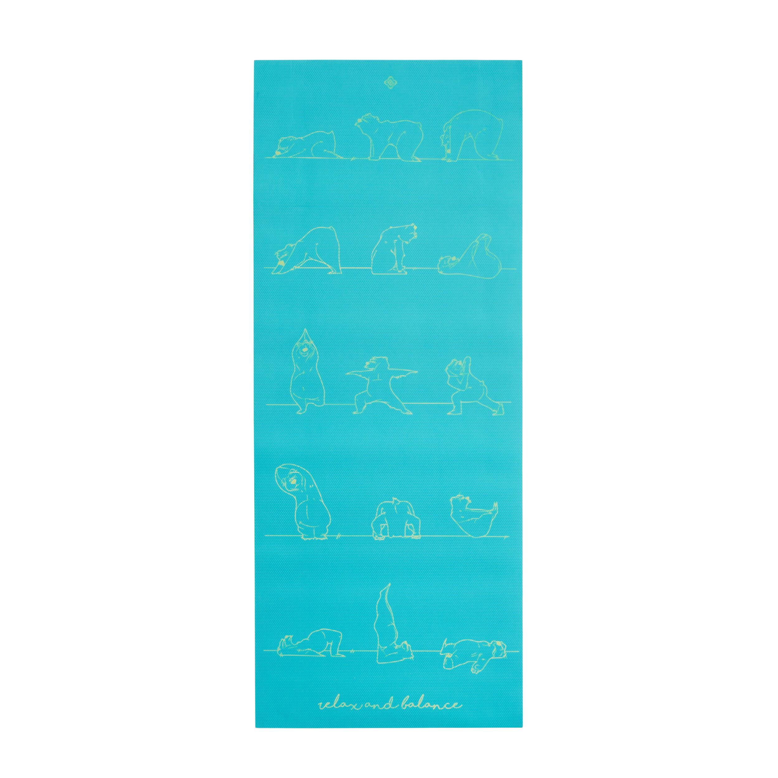Saltea Yoga 5mm Copii imagine
