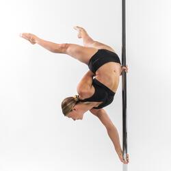 Short de pole dance noir femme