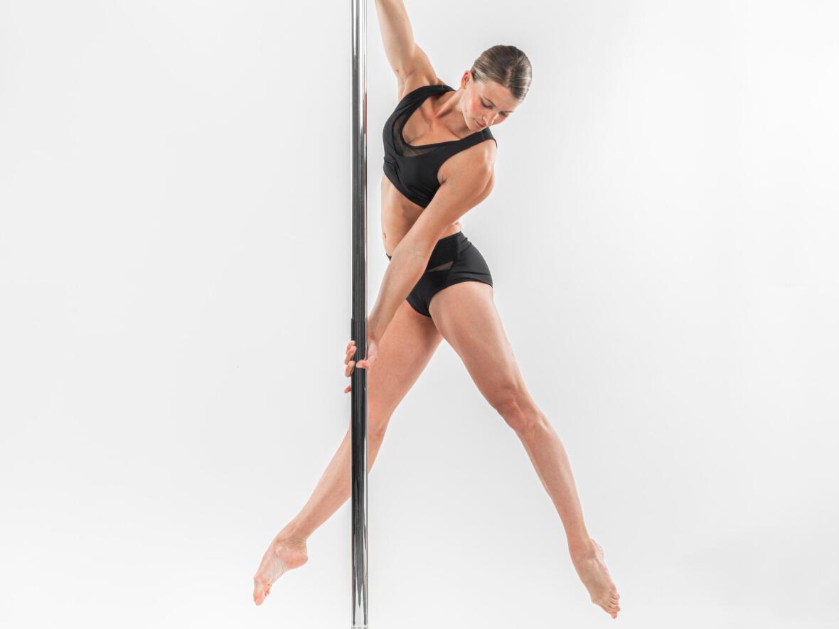 commencé la pole dance