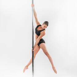 Top de Pole Dance Mulher Preto