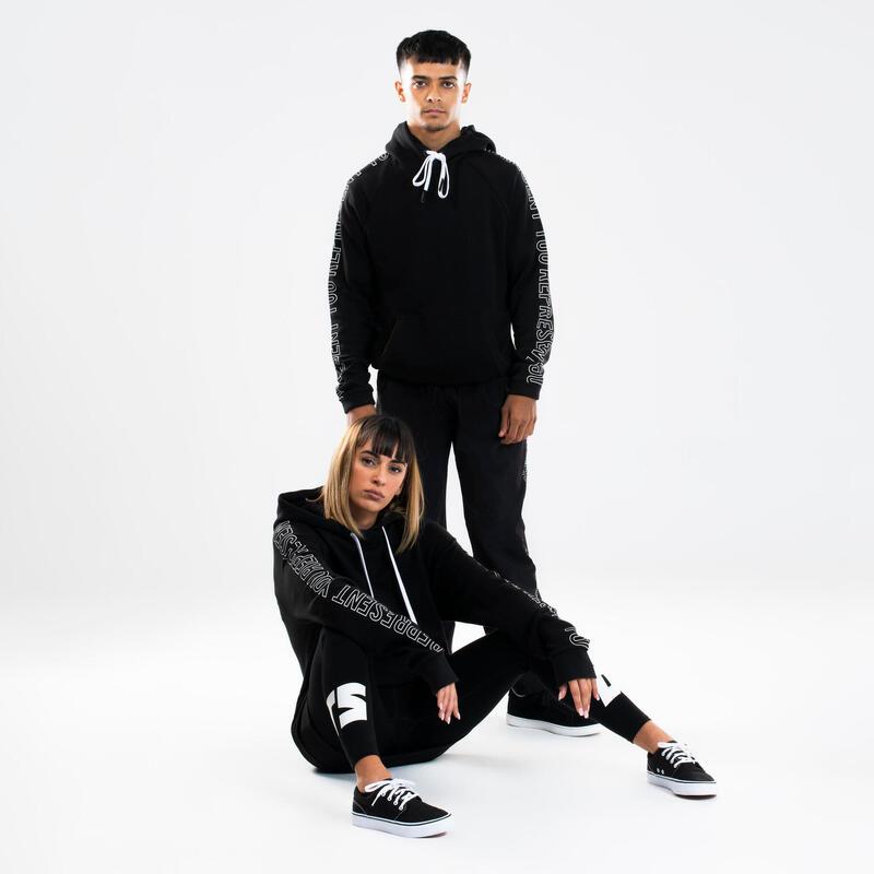 Hoodie voor streetdance zwart