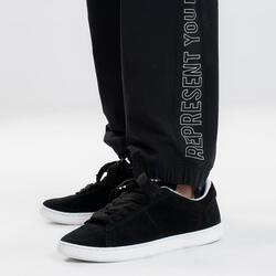 Leren schoenen voor street dance maat 36-46 zwart