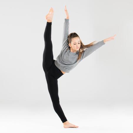 Girls' Modern Dance Sweatshirt - Grey