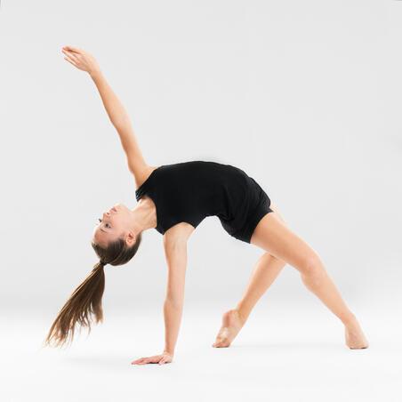 Short de danse moderne ajusté noir – Filles
