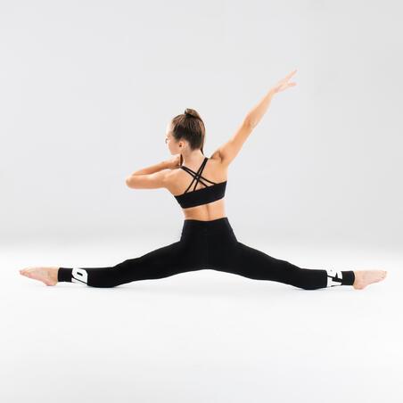 Collant de danse moderne taille haute – Filles