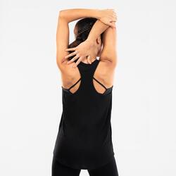 Débardeur danse moderne fluide noir femme