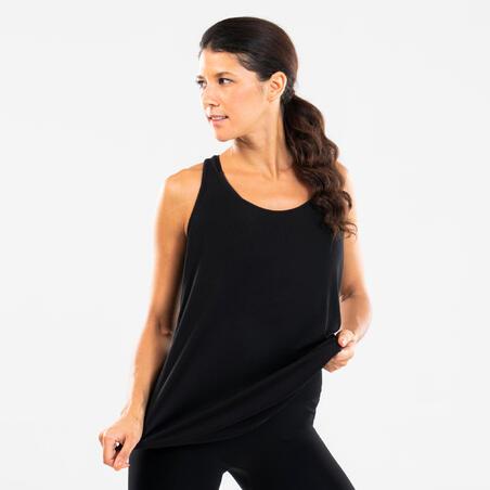 Loose modern dance tank top - Women