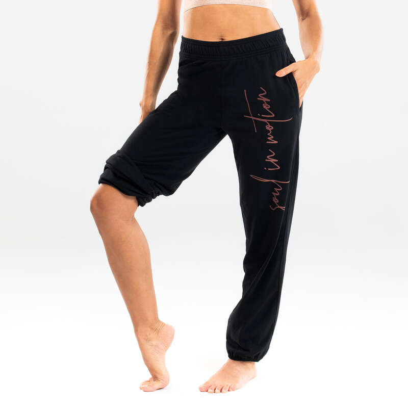 NŐI MODERN TÁNC ÖLTÖZÉK Fitnesz - Női nadrág modern tánchoz DOMYOS - Fitnesz