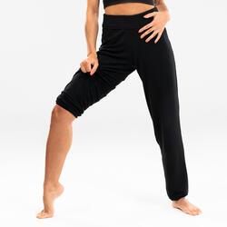 Pantaloni fluidi donna danza moderna neri