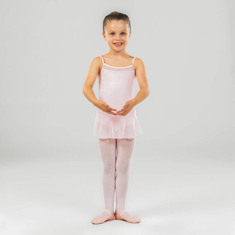 DÍVČÍ TRIKOTY, OBLEČENÍ NA BALET Balet - DRES S TENKÝMI RAMÍNKY STAREVER - Balet